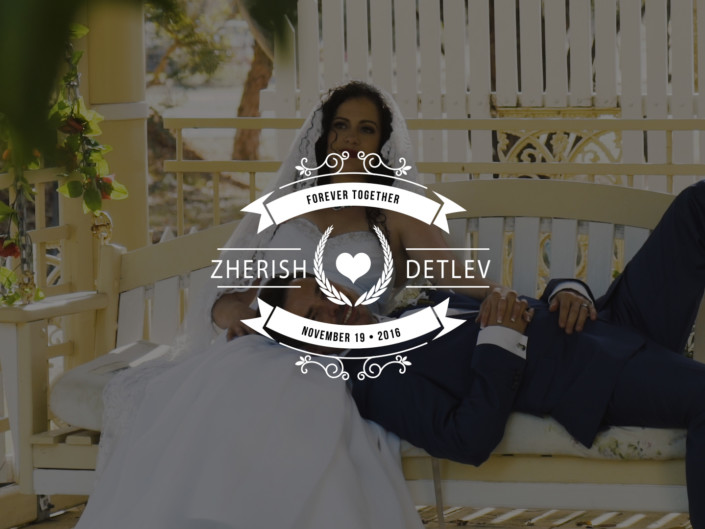 Zherish + Detlev 💒 19-11-16 💍 Wedding Video Perth 📹 [Highlights]